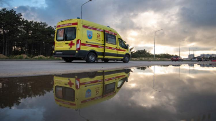 В Севастополе произошло ДТП с участием машины скорой помощи