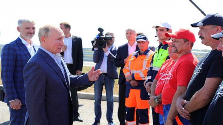 Врио губернатора Севастополя принял участие в церемонии открытия трассы «Таврида»