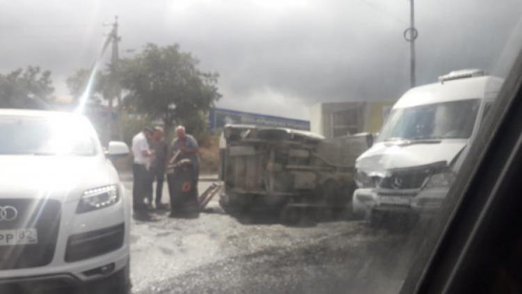 На дорогах Севастополя остаётся напряжённой аварийная ситуация