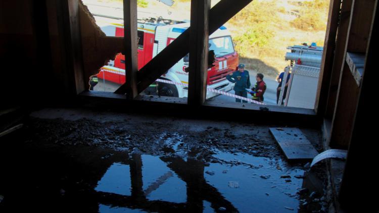 На пожаре в севастопольском СТ обнаружен погибший мужчина