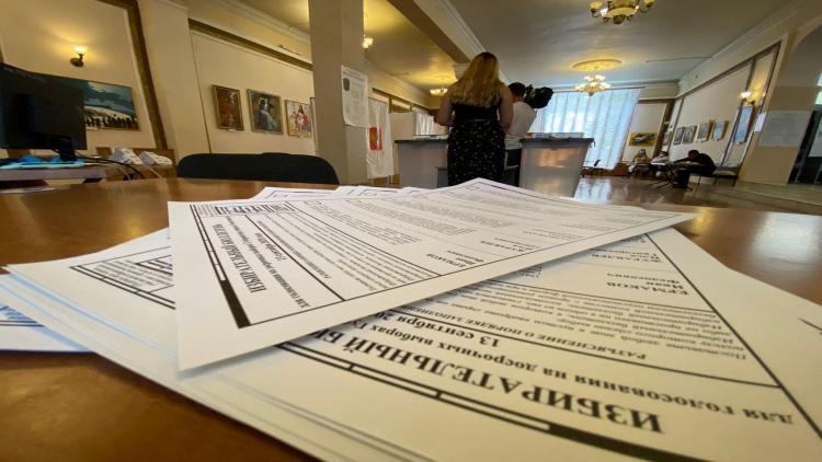 Итоги выборов в Севастополе на 8 утра 14 сентября