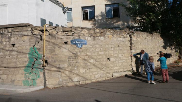 В Севастополе восстановят подпорную стенку возле школы