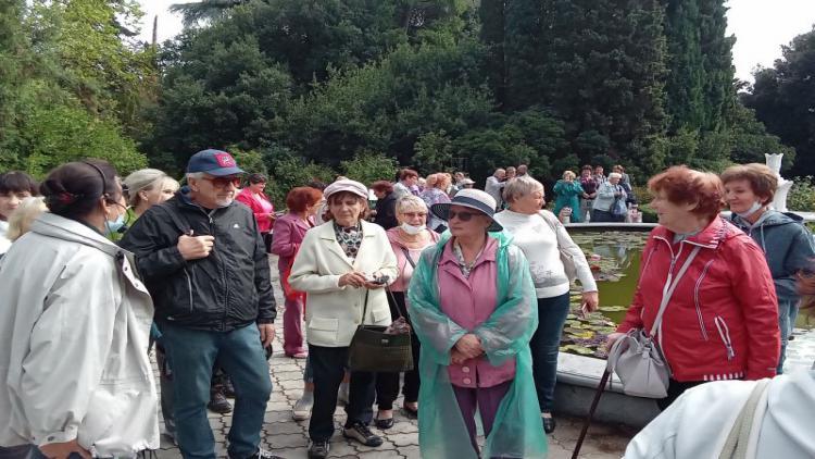 Яркие впечатления – для севастопольских пенсионеров