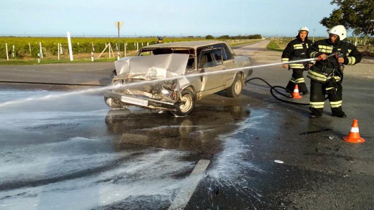 Шесть человек пострадали в двух ДТП на дорогах Севастополя [фото]