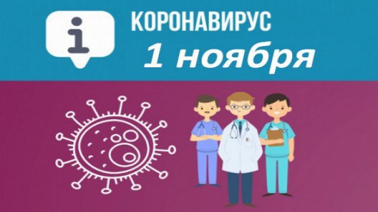 Оперативная сводка покоронавирусу вСевастополе на1ноября