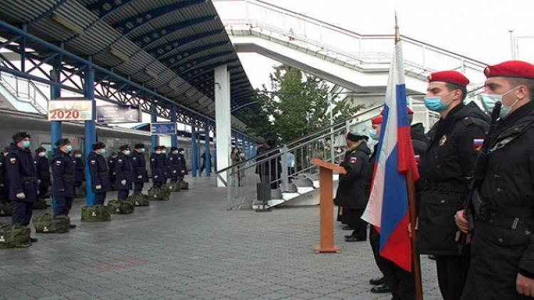 Первая отправка призывников поездом дляпрохождения службы запределами полуострова состоялась вСевастополе