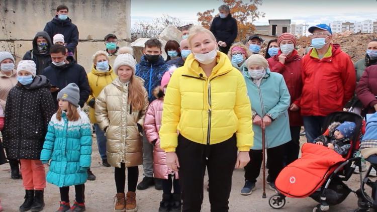 Обращение севастопольцев к Владимиру Путину по поводу самозахвата земли